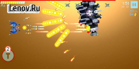 Gold Flower - Bullet Hell Shooter (обновлено v 2.1.0) (Mod Money)
