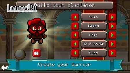 Gladiator Rising: Roguelike RPG (обновлено v 1.048) (Mod Money/Ads-free)