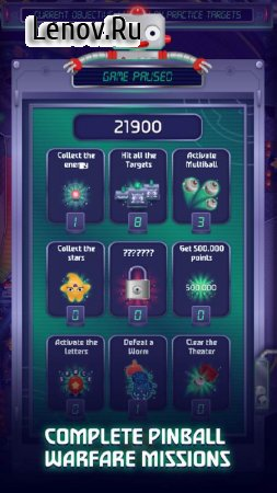Pinball Cadet v 2.4 Мод (Unlimited Money/Ad-Free Purchased/Ball Purchased)
