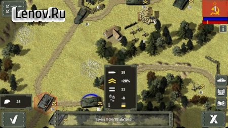 Tank Battle: East Front v 1.1 Мод (Unlocked)