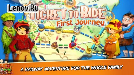 Ticket to Ride: First Journey (обновлено v 0.3.27) (Full)