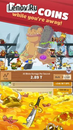 Hopeless Heroes: Tap Attack v 2.0.19 Мод (много денег)