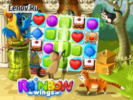 Rainbow Wings v 1.0.3 Мод (Unlimited Coins/Boosters)