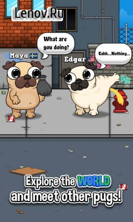 Pug - My Virtual Pet Dog v 1.1 (Mod Money)