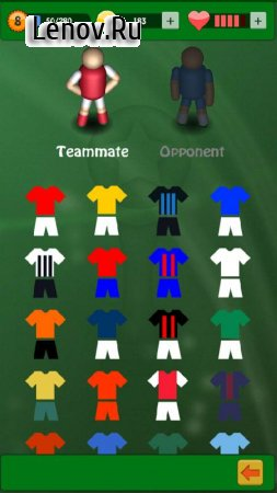 Soccer – top scorer 2 v 1.3.5 Мод (All Currency)