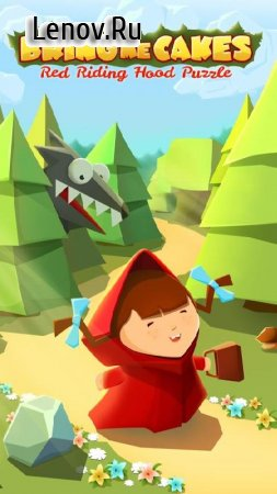 Bring me Cakes - Little Red Riding Hood Puzzle v 1.71 Мод (Unlimited cakes)