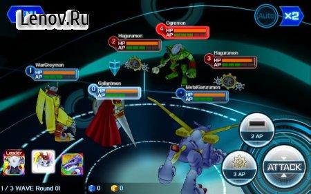 DigimonLinks v 2.5.4 (God Mode/High Damage/Weak Enemies)