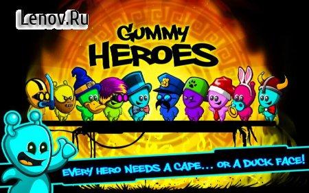 Gummy Heroes v 1.0.6 Мод (Unlocked)