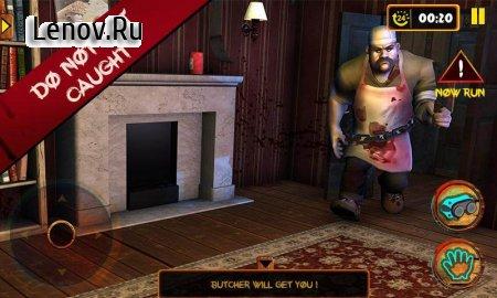 Scary Butcher 3D v 1.1 Мод (Unlocked)