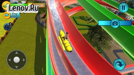 Water Slide Downhill Rush v 1.54 (Mod Money)