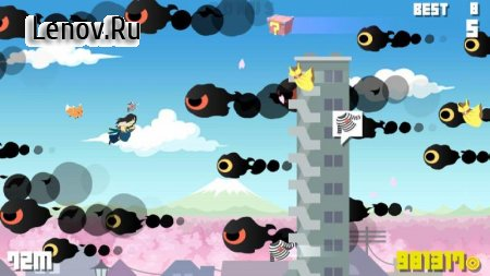 Flying Ninja : master of delivery v 1.1.0 Мод (All Currencies)