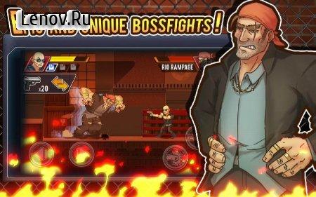 Fist of Rage: 2D Battle Platformer (обновлено v 1.5) (Mod Money)