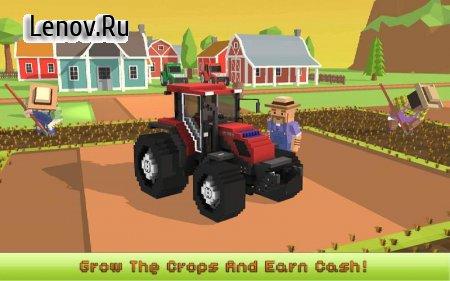 Blocky Farm: Corn Professional v 1.2 (Mod Money)