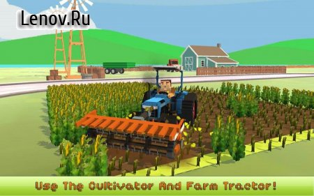 Blocky Farm: Corn Professional v 1.2 (Mod Money)