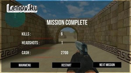 Alone Counter Terrorist Strike v 2.0 (Mod Money)