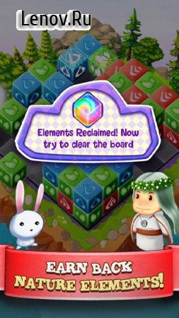 Cubis Kingdoms - A Match 3 Puzzle Adventure Game v 1.0.0 Мод (Unlocked)