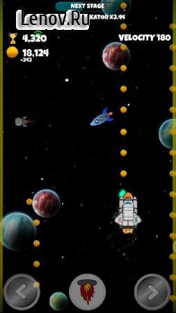 Into Space Race v 1.0.0 (Mod Money)