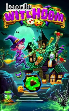 Witchdom - Candy Match 3 v 1.5 (Coins/Spins/Boosters/Lives Increase)