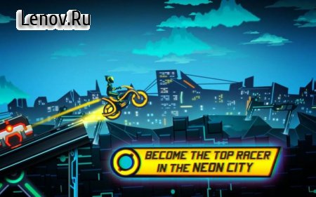 Bike Race Game: Traffic Rider Of Neon City v 3.53 (Mod Money)