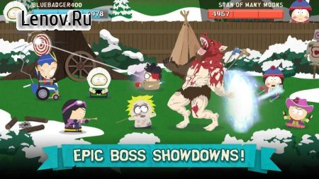 South Park: Phone Destroyer™ v 4.1.1 Мод (Unlimited Attacks/License Bypass)