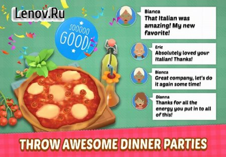 Sara's Cooking Party v 0.8.15.1096 Мод (unconditional use of gold coins diamond shopping)