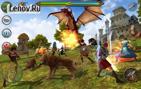 3D MMO Celtic Heroes v 2.70 Мод (Massive Ammount Of Hp & Energy)