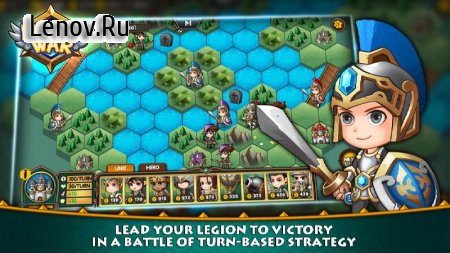 Legion War - Tactic & Strategy v 1.4.0 Мод (Diamonds)