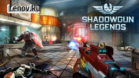 Shadowgun Legends v 0.7.6 Mod (Enemies in PVE Will not Attack)