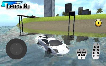 X Robot Car : Shark Water v 1.4.2 (Mod Fuel)