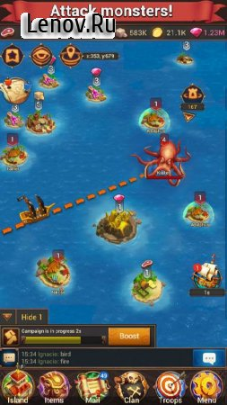Pirate War: Age of Strike v 3.0.2 (God Mode/One Hit & More)