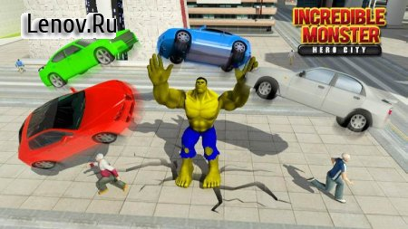 Incredible Monster Hero City Rescue Mission v 1.1.4 (Mod Money)