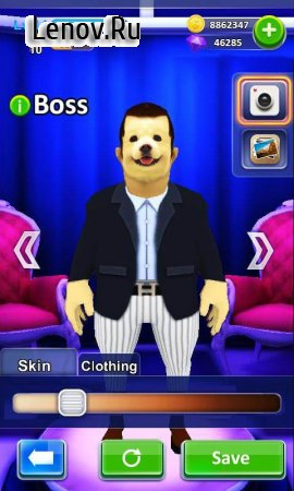 Punch the Boss (обновлено v 1.4) (Mod Money)