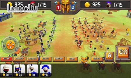 Greek Warriors : Castle Defence (обновлено v 4.3) Мод (Upgrade to add currency)