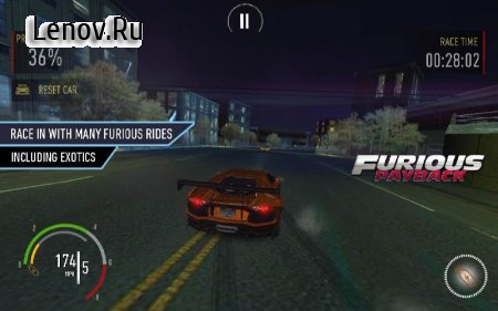 Furious Payback Racing (обновлено v 3.5) (Mod Money)