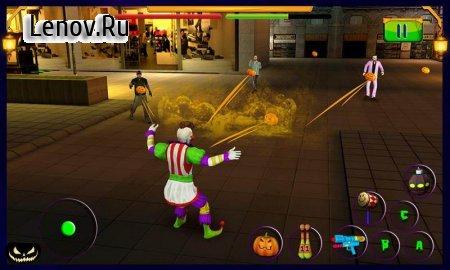 Scary Clown : Halloween Night (обновлено v 1.1) Мод (Unlocked)