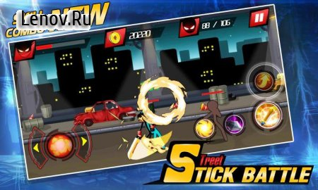 Stick Street Battle v 3.0 (Mod Money)