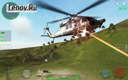 Helicopter Sim v 2.0.1 Мод (Unlocked)