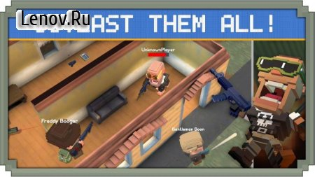 Guns Royale - Multiplayer Blocky Battle Royale v 1.0 (Mod Money)