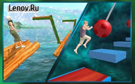 Stuntman Water Run (обновлено v 1.1.5) (Mod Money)
