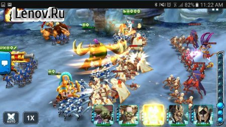 Wartide Heroes of Atlantis v 1.11.8 Мод (Unlimited Mana/No Skill CD)