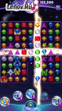 Bejeweled Stars v 2.20.0 Мод (Infinite Coin/Booster)