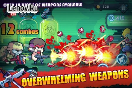 Frenzy Zombie v 1.21 Мод (Reward Currency/1hit kill & More)