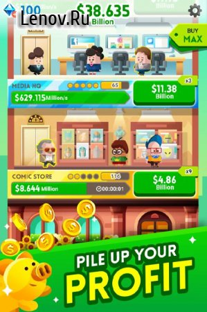 Cash, Inc. Fame & Fortune Game v 2.2.8.1.0 (Mod Money)