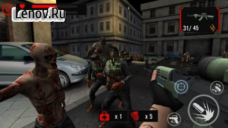 Zombie Crushers: FPS Virus Walking Dead Shooter (обновлено v 1.12.0) (Mod Money)