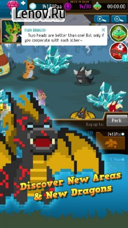 Dragon Keepers - Fantasy Clicker Game (обновлено v 1.0.25) Мод (Free Shopping)