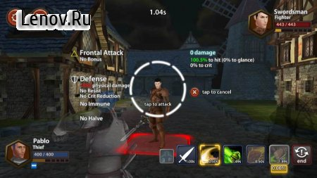 Chrono Clash v 1.0.270 Mod (Damage/Defense/Skills Effect x10)
