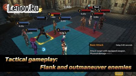 Chrono Clash v 1.0.285 Mod (Damage/Defense/Skills Effect x10)