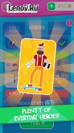 Bubblegum Hero v 1.0.7 Мод (Free Shopping)
