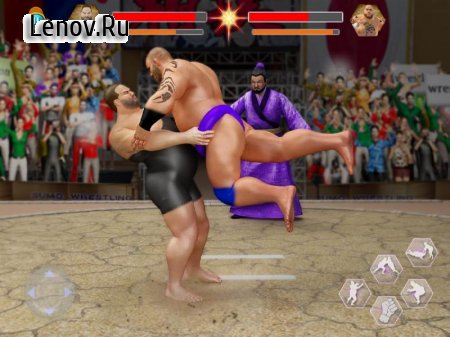 Sumo Stars Wrestling 2018 v 1.0.4 (Mod Money)