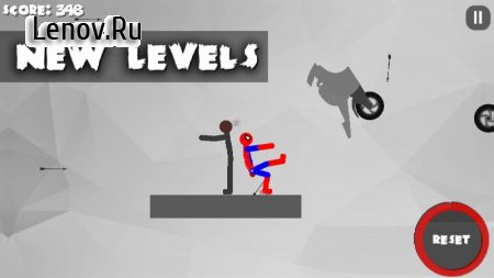 Stickman Destruction 3 Heroes v 1.11 (Mod Money)